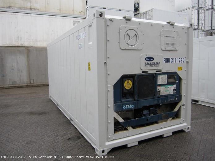 conteneur frigorifique 20 pieds occasion