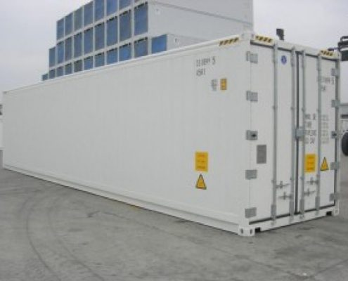 location container reefer 40 pieds