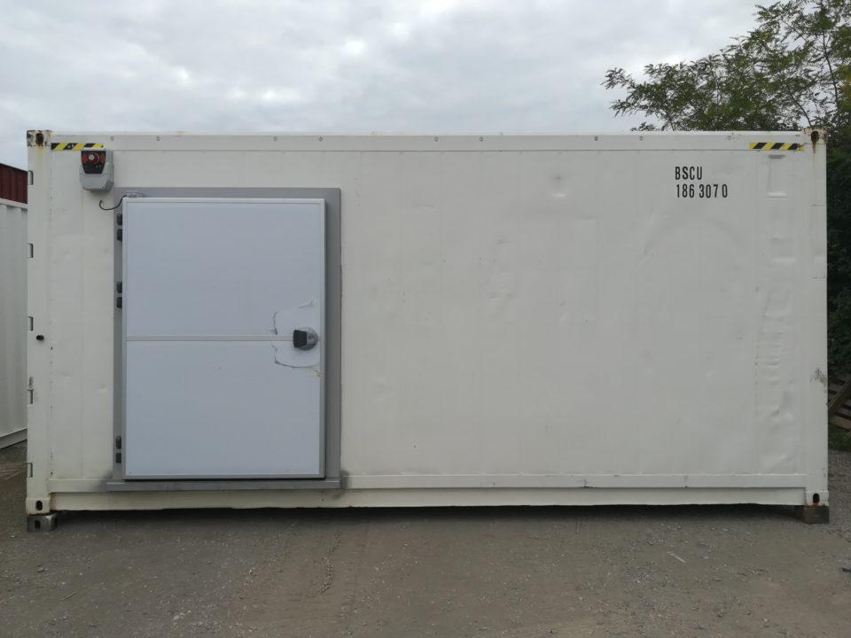 container frigo porte standard