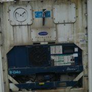 container reefer dernier voyage