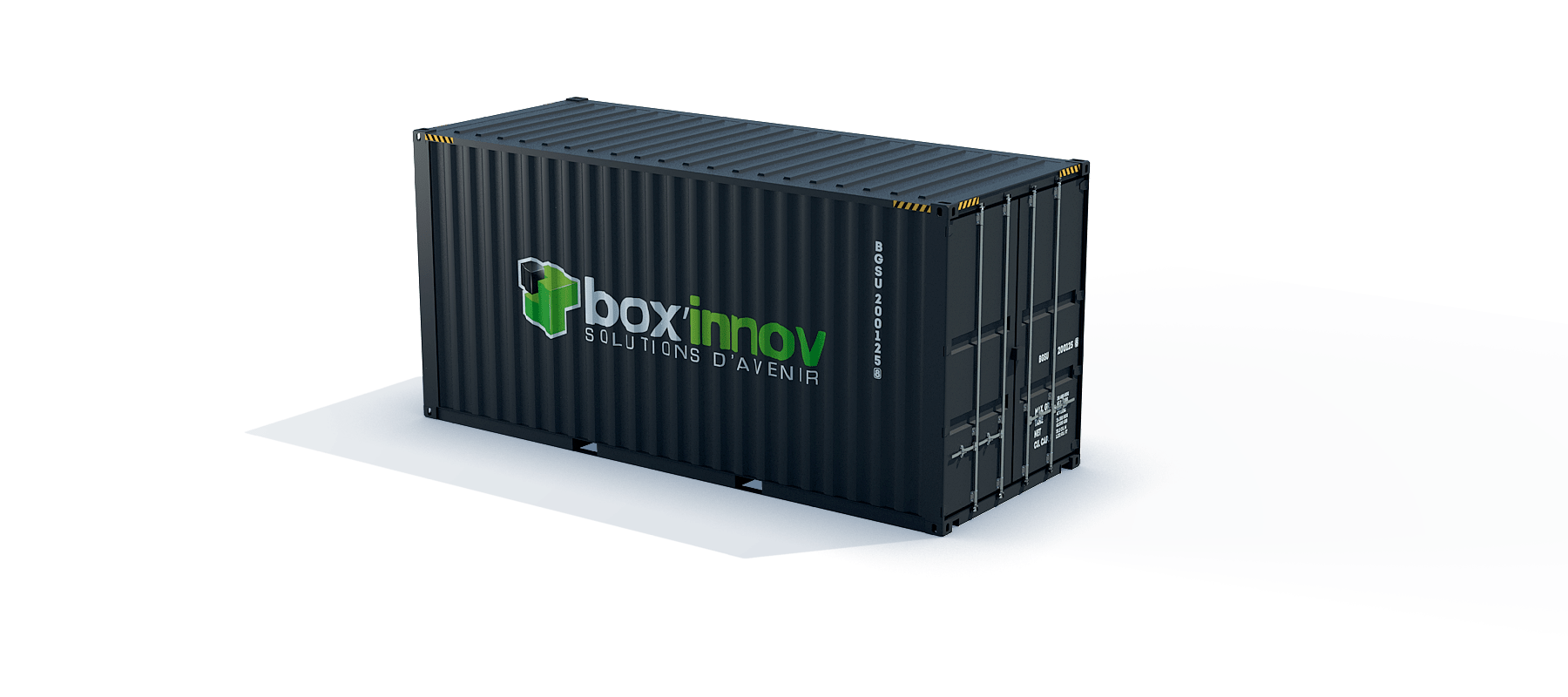 container 20 pieds HC dry