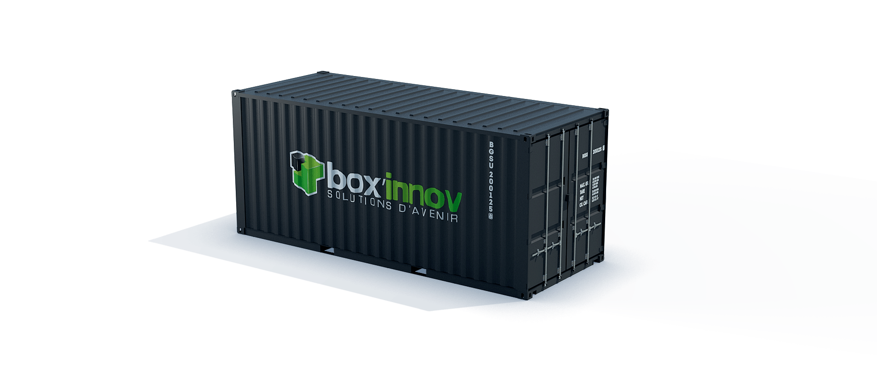 container 20 pieds dry