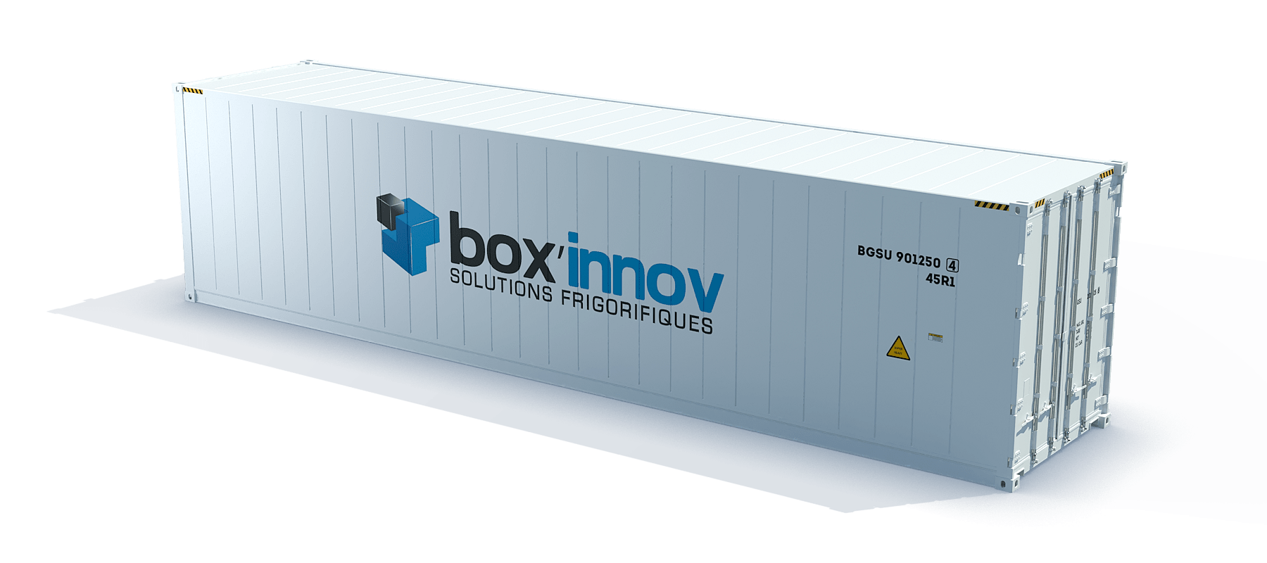 container 40 pieds HC isotherm