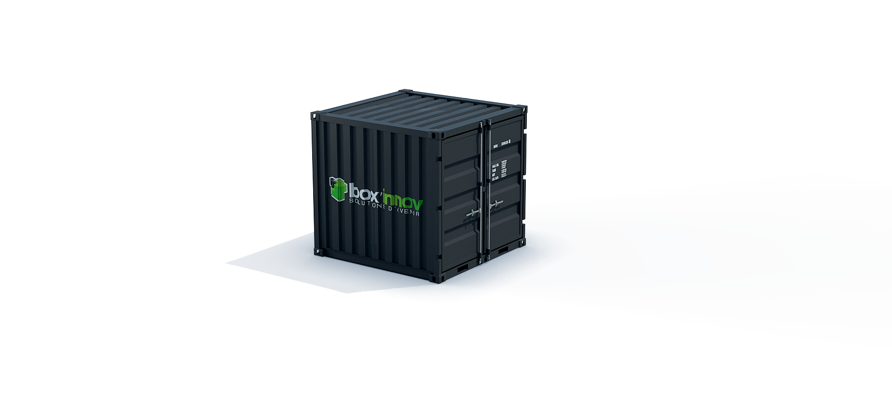 container 8 pieds dry