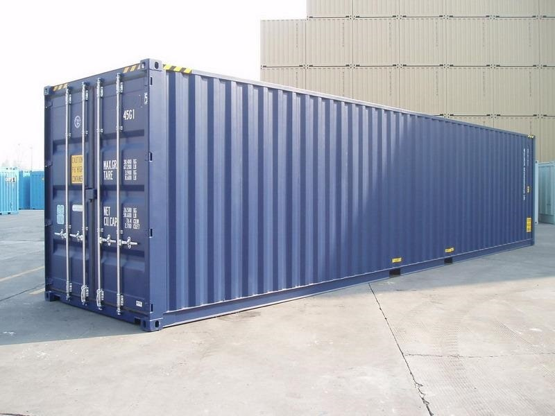 conteneur 12m high cube dimensions
