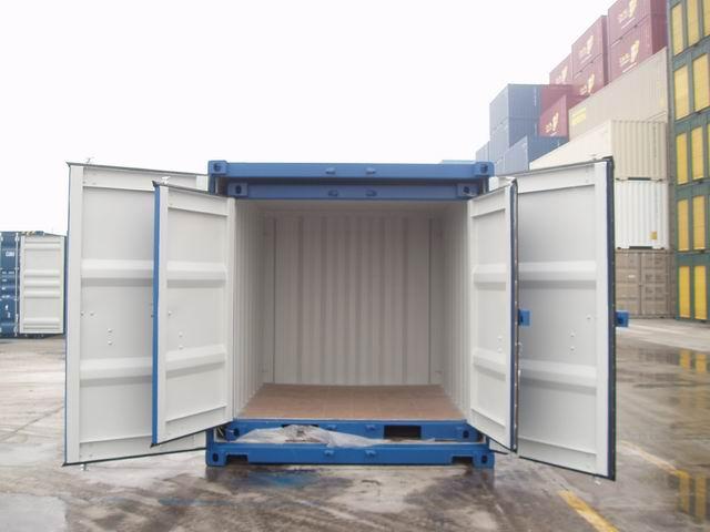 conteneur 9m3 dimensions
